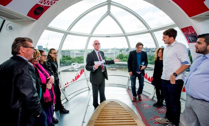 Ambition Volunteer Winners at the London Eye, London on the 09/06/2015. Photo: David Tett